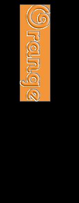 シフォンケーキ:オレンジ