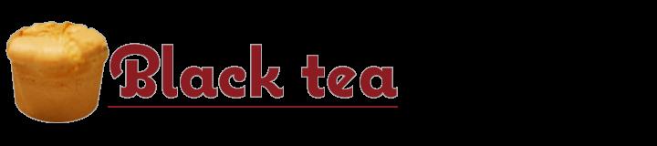 紅茶 シフォンケーキ