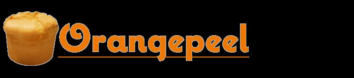 オレンジピール シフォンケーキ